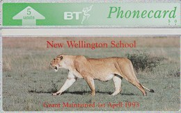 United Kingdom - New Wellington School - Lion - BTG-161 - Royaume-Uni