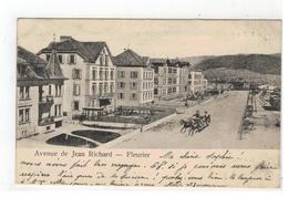 Fleurier   -  Avenue De Jean Richard   R & Sch. 492      1906 - Suisse