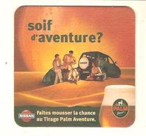 Bière PALM - Publicité Concours NISSAN - 1998 - Sous-bocks