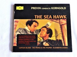 Previn Conducts KORNGOLD, The Sea Hawk And Errol Flynn Great Music Movies, - Filmmusik
