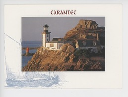 Carantec, Le Phare De L'Ile De Louët - Carantec