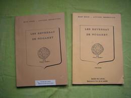Tapuscrit En 2 Volumes Généalogie De La Famille Reversat De Nogaret Lozère 250 Pages - Vieux Papiers