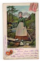 Glarus 1908   ARTIST.ATELIER H.GUGGENHEIM & C° N° 801 - Switzerland