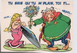 REF 480 :  CPM Bande Dessinée Asterix 1999 - Comics