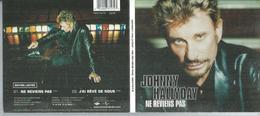 CD  JOHNNY HALLYDAY - NE REVIENS PAS - CD MAXI édition Limitée - Musique & Instruments