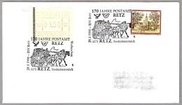 170 AÑOS DE CORREOS - Carruaje Postal - Stagecoach. Retz 1990 - Correo Postal