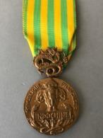 MÉDAILLE CAMPAGNE D'INDOCHINE - Médailles & Décorations