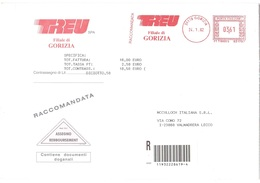 TREUD FILIALE DI GORIZIA - Machine Stamps (ATM)