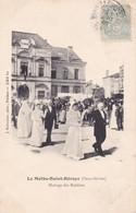 79-LA MOTHE-SAINT-HERAYE- MARIAGE DES ROSIERES-ANIMEE - La Mothe Saint Heray