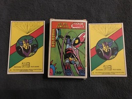 Jeux De Cartes De 7 Familles GOLDORAK ÉDITION TÉLÉ GUIDE 1978 TBE COMPLET - Gezelschapsspelletjes