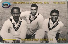 TRINITE & TOBAGO  -  Phonecard  - TSTT  -  The  3Ws  -  TT $ 20 - Trinidad En Tobago