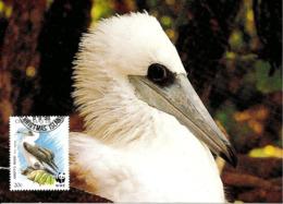1990 - CHRISTMAS ISLAND - Abbott's Booby - Fou D'Abbott WWF - Christmas Island