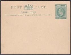 Wlk_ Gibraltar Ganzsache  - Mi.Nr. P 25 - Ungebraucht Unused - Gibraltar
