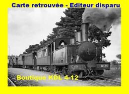 BVA 649-04 - Train - Loco Corpet-Louvet 030 T N° 36 En Gare - ETABLES - Côtes D'Armor - CdN - Etables-sur-Mer