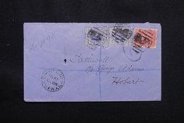 AUSTRALIE - Enveloppe En Recommandé De Nymagee Pour Hobart En 1901, Affranchissement Plaisant - L 57190 - Briefe U. Dokumente