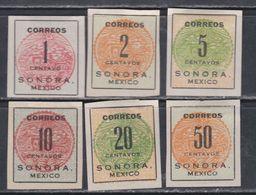 Mexique N° 280 / 85 X  La Série Des 6 Valeurs  Trace De Charnière,  TB - Mexico
