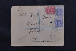 AUSTRALIE - Enveloppe En Recommandé Pour Hobart En 1904, Affranchissement Plaisant - L 57192 - Briefe U. Dokumente
