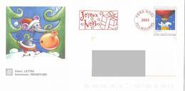 PAP - Lettre Père Noël 2003. Livourne. - PAP:  Varia (1995-...)