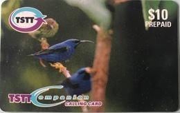 TRINITE & TOBAGO  -  Phonecard  - TSTT  -  Blue Bird  -  $ 10 - Trinidad En Tobago