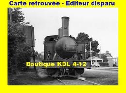 BVA 649-09 - Loco Corpet-Louvet 030 T N° 36 - Gare De SAINT-QUAY - Côtes D'Armor - CdN - Saint-Quay-Portrieux