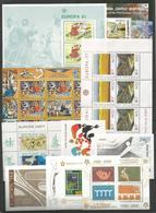 10 St. DIFFERENT - MNH - Europa-CEPT - Art - Architecture - Perf. + Imperf. - Other