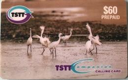 TRINITE & TOBAGO  -  Prepaid - TSTT  -  Aigrette  -  $ 60 - Trinidad En Tobago