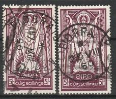 IRLANDE 1941-44 YT N° 91 Et 92 Obl. - 1937-1949 Éire
