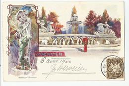 Allemagne Bavière  Muenchen Illustrateur Muth Gasteiger Brunnen 1900 - Muenchen
