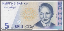 TWN - KYRGYZSTAN 8 - 5 Som 1994 Prefix AC UNC - Kyrgyzstan