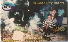 TRINITE & TOBAGO  -  Phonecard  - TSTT  -  Bursting Bamboo  -  TT $ 60 - Trinidad En Tobago