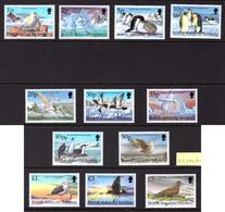 1983 - BRITISH ANTARTIC TERRITORY - Mi  276/287 - NH -  (CW1822.35) - Nuovi