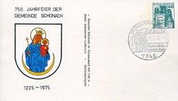 52549 Germany Soecial Postmark 1978 Schonach Schwarzwald, Water Mill, Wassermühle,moulin à Eau, - Droga
