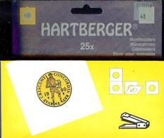 """LINDNER - ETUIS """"HB"""" à AGRAFER Pour MONNAIES Jusqu'à 40 Mm - REF. 8330 040 (paquet De 25) - Matériel"""