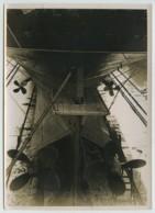 """(Bateaux) Le Havre 19 Sept. 1934 . Vue Arrière Du Paquebot """"Flandre"""" En Cale Sèche . Hélice . - Bateaux"""