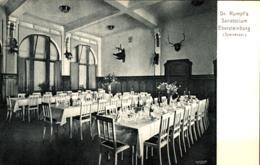 Ebersteinburg Dr. Rumpf's Sanatorium Speisesaal Ugl - Baden-Baden