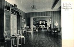 Ebersteinburg Bei Baden-Baden Dr. Rumpf's Sanatorium Salons Ugl - Baden-Baden