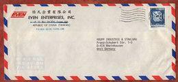 Luftpost, Doppelkarpfen, Taipei Nach Rheinhausen 1974? (92479) - Briefe U. Dokumente