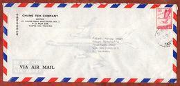 Luftpost, Wildgaense, Taipei Nach Rheinhausen 1973 (92480) - Briefe U. Dokumente