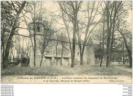 77 NANGIS. Château Du Marquis 1925 - Nangis