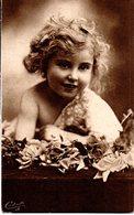 CPA  -  Bébé Portrait- Neuve - - Neonati