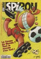 Magazine Spirou N°3141 De 1998: Les Tuniques Bleues Spirou Leloup Yoko Tsuno Le Scrameustache - Spirou Magazine