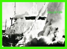 SAINT-PIERRE ET MIQUELON - CHALUTIER COUVERT DE GLACE EN HIVER - JEAN BRIAND, PHOTOGRAPHE - - Saint-Pierre-et-Miquelon