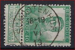 Nr. 114 Met ZELDZAME Rondstempel Van SCHOOTENHOF ; Staat Zie Scan ! Inzet 10 € ! - 1912 Pellens