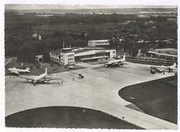 Hannover Flughafen Luftaufnahme Gel.1957 - Goettingen