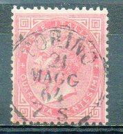 ITALIE (Royaume) - 1863-77 - N° 19 - 40 C. Rose - (Victor-Emmanuel II) - Usati