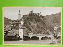 Photo Original 1890, Vianden, Vue Générale. N. Maroldt Diekirch. 16x10 - Cartoline