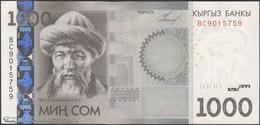 TWN - KYRGYZSTAN 29a - 1.000 1000 Som 2010 Prefix BC UNC - Kirghizistan