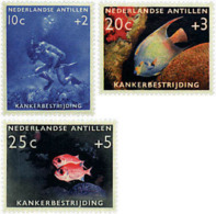 Ref. 63338 * NEW *  - NETHERLANDS ANTILLES . 1960. FIGHTING CANCER. LUCHA CONTRA EL CANCER - Antillen