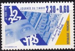 Frankreich, 1990, Mi.Nr. 2762, MNH **, Le Jour Du Timbre. - Unused Stamps