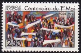 Frankreich, 1990, Mi.Nr. 2772, MNH **,  Fête Du Travail (1er Mai). - Unused Stamps